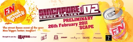 Singapore Dance Delight VOL.02 Preliminaries @ Scape !