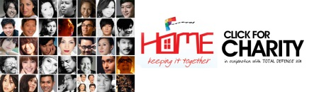 """Home, Keeping it Together"" Total Defence 2011 – Click For Charity"