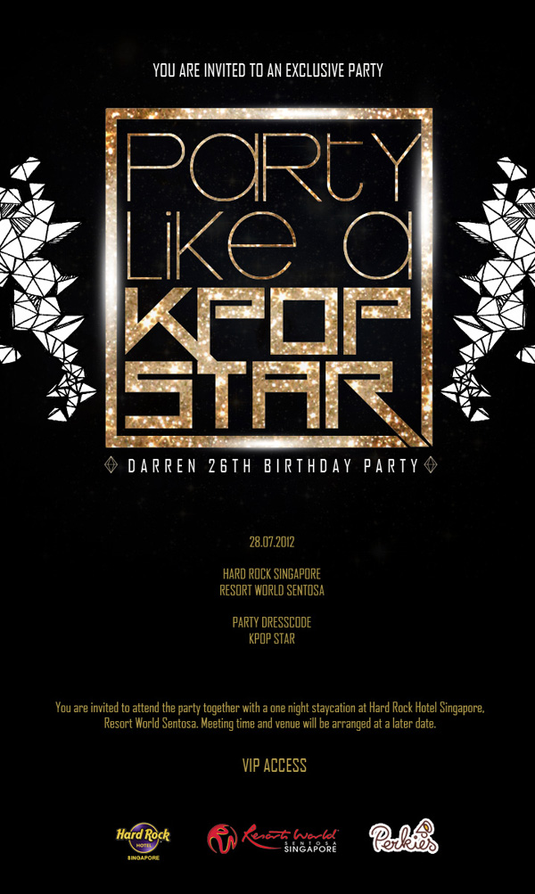 Party Like A Kpop Star Birthday Party With Bbfs Darren