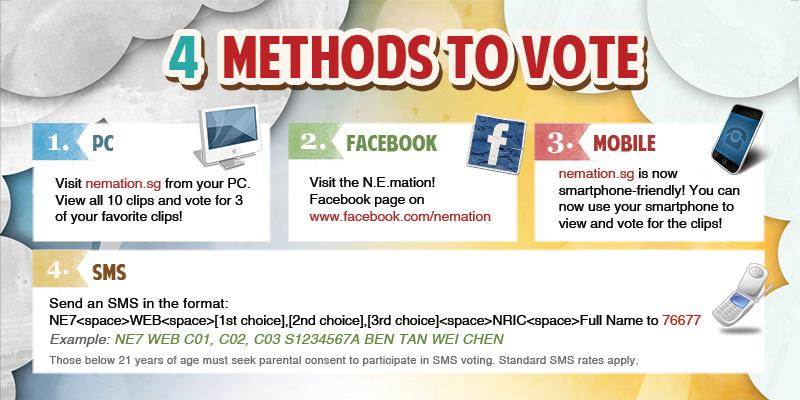 4 ways to vote