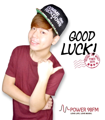 [Darren Bloggie Giveaway] Around the World with POWER 98FM & Darren Bloggie!!! Win Boarding Pass & Goodie Bag!