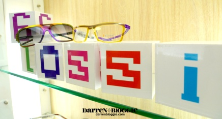 My GLOSSI Eyewear Shopping Experience at Nanyang Optical