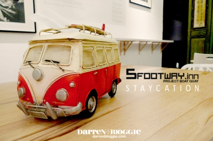 Staycation At 5footway.inn Project Boat Quay. A Hostel or A Hotel?