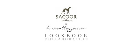 [WIN!] Sacoor Brothers x Darren Bloggie Lookbook Collaboration