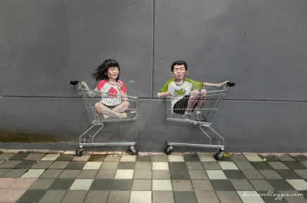 Ernest Zacharevic Street Art in Singapore
