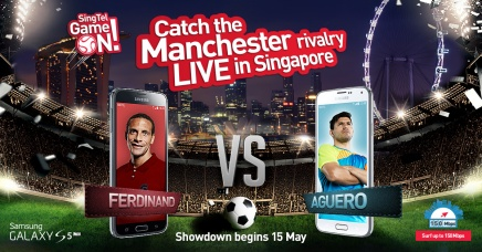 [NEWS] SingTel and Samsung to bring Manchester Rivals Rio Ferdinand and Sergio Agüero to Singapore!