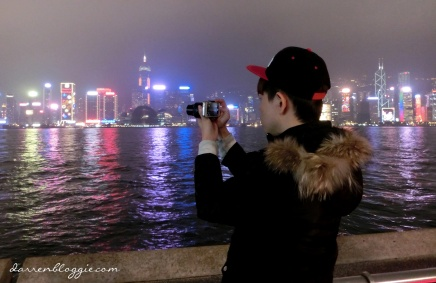 [Day 03] Capturing Hong Kong with Sony QX 100 : Dazzling Hong Kong Habour at Night
