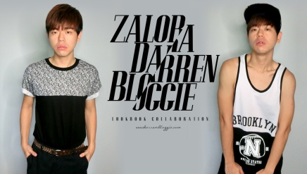 Zalora X Darrenbloggie Lookbook Collaboration Vol 01