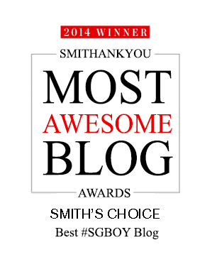 SmithAward Best SGBOY Blog