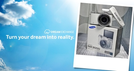 Dream Exchange with Samsung NX3000