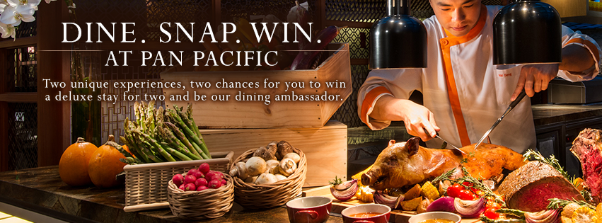 """[News] Dine.Snap.Win at """"Pan Pacific"""" and PARKROYAL hotels inSingapore!"""