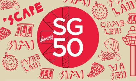 Celebrate National Day at SCAPE SG(almost)50 National Day Celebration!