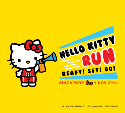 [News] First Hello Kitty Run in Singapore: Ready! Set! Go!
