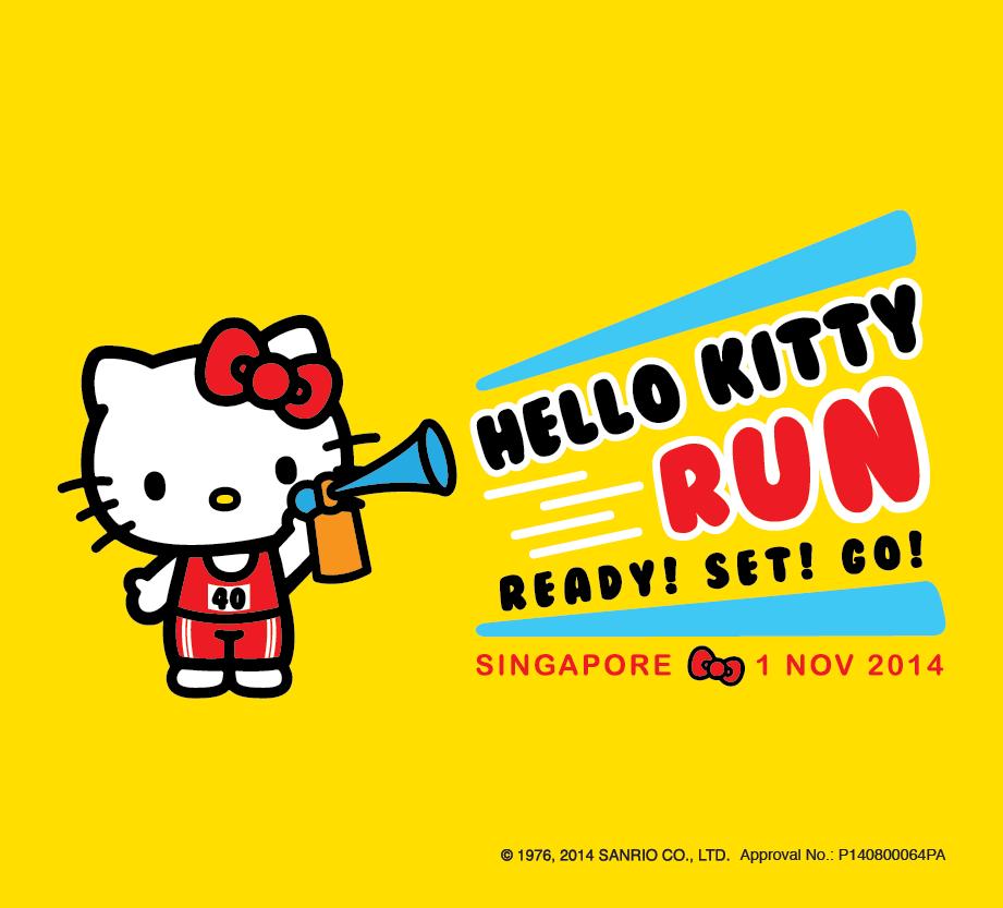 [News] First Hello Kitty Run in Singapore: Ready! Set!Go!
