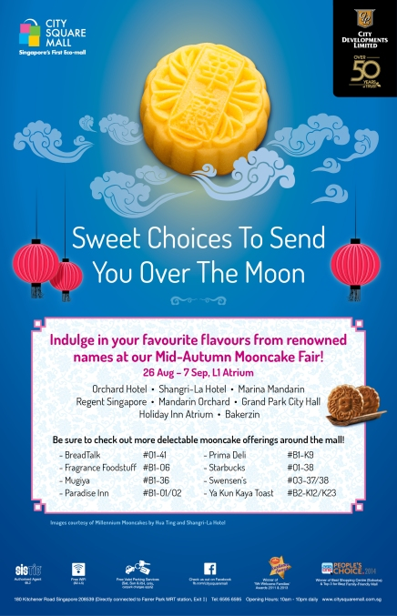 [Mid-Autumn Festival 2014] Mid-Autumn Fair at City Square Mall