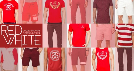 Go RED & WHITE to Celebrate Singapore 49th Birthday at Zalora!