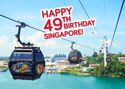 [News] Faber Peak Singapore Celebrates with Singapore