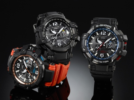 [News] Casio G-SHOCK GPW-1000: World's First with GPS and Radio Wave Time-Calibration Hybrid Technology