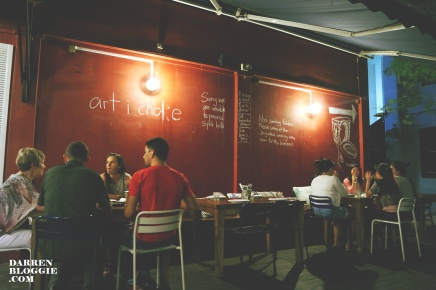 Communal Dining at Artichoke Cafe &Bar