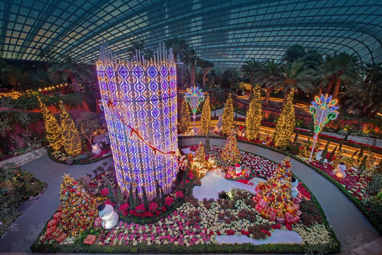 Christmas Wonderland at Gardens by the Bay 02