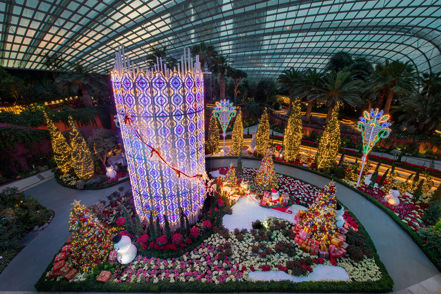 """Yuletide In The Flower Dome A Wintry Christmas At Gardens By The Bay Darren Bloggie Ɂ""""人的部落格 Singapore Lifestyle Blog"""
