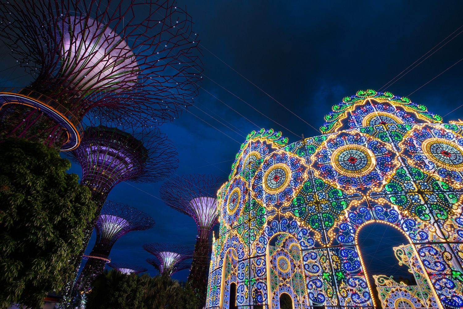 Christmas Wonderland at Gardens by the Bay 01