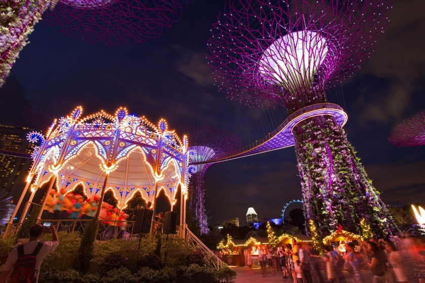 Photo Credit : Gardens by the Bay