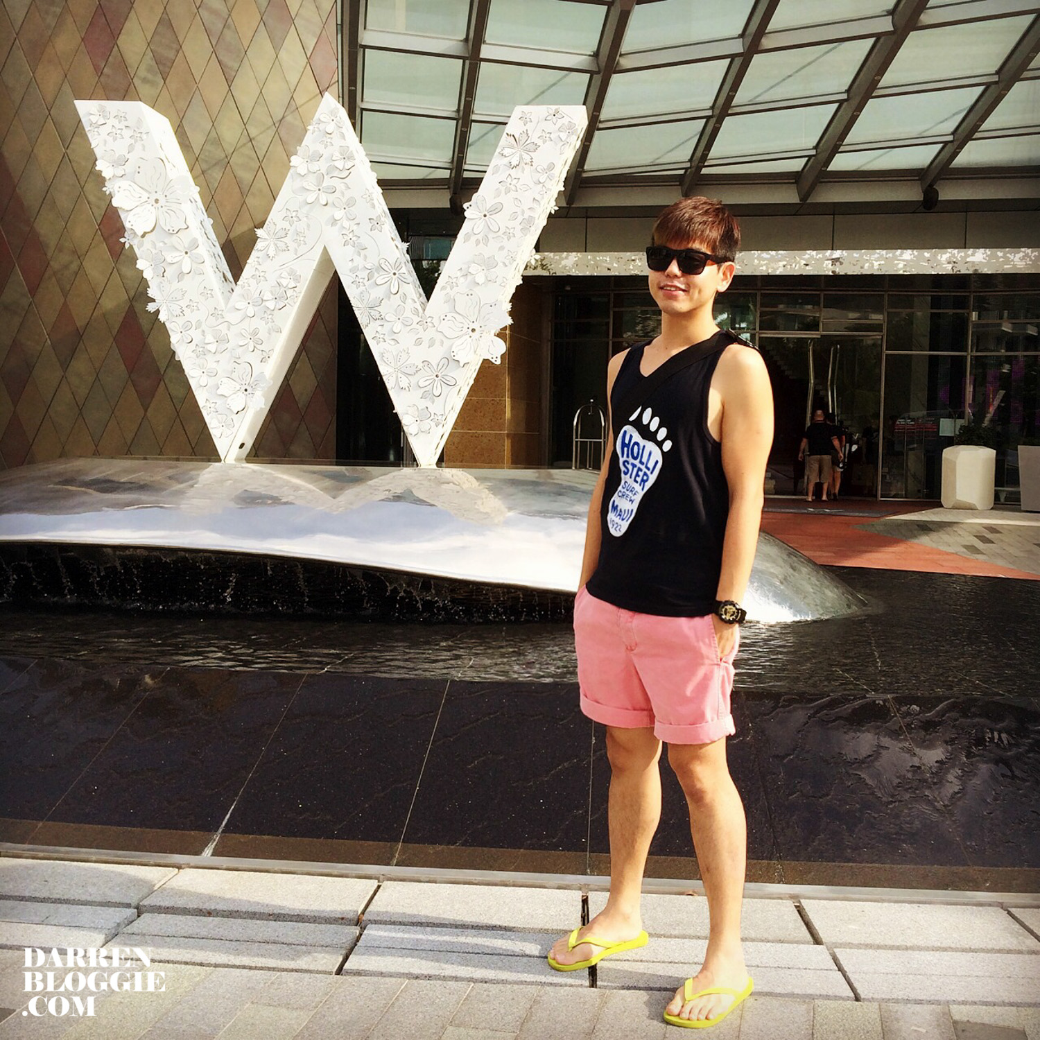 Staycation at W Hotel Singapore Sentosa Cove