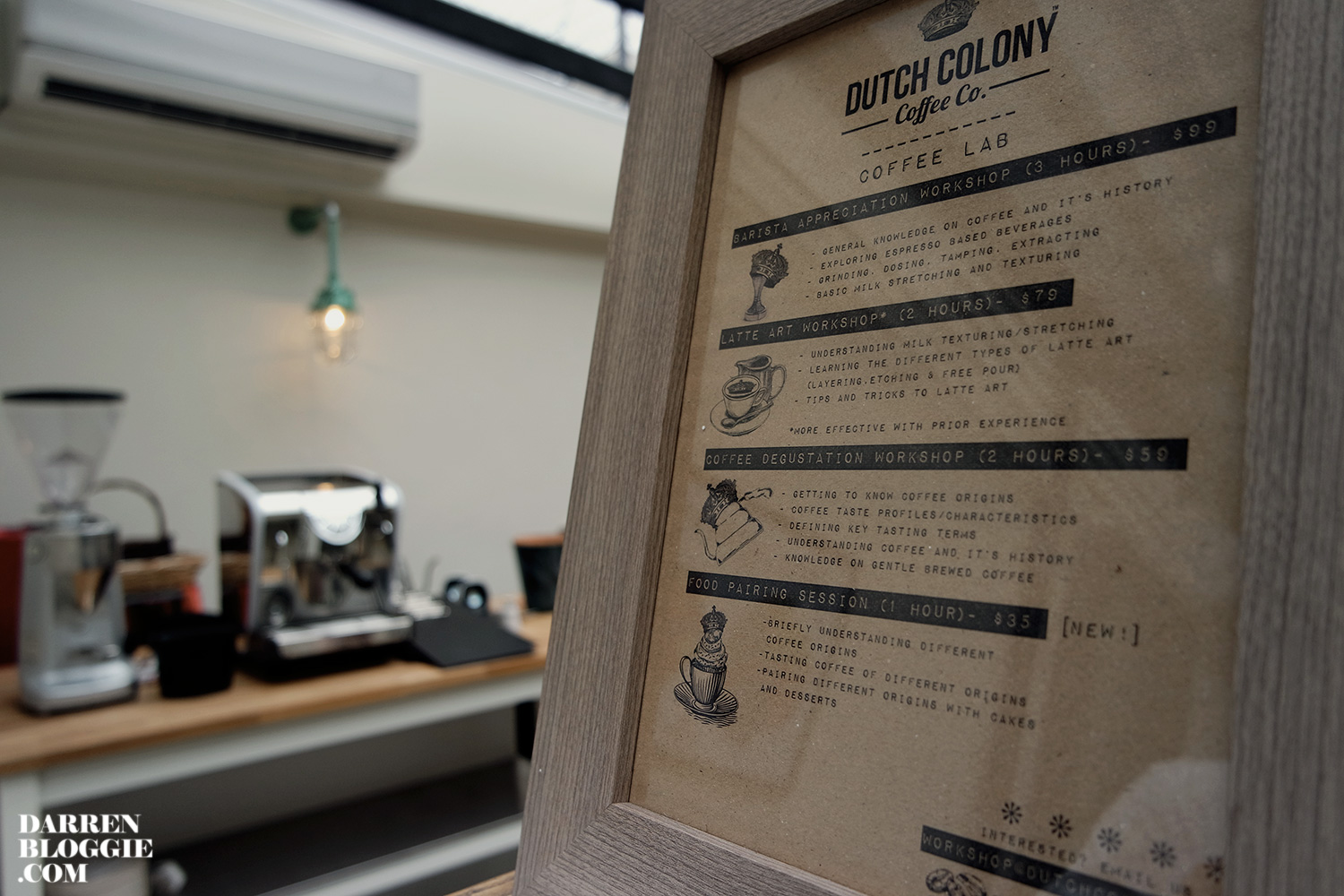 Dutch colony coffee co at frankel ave siglap