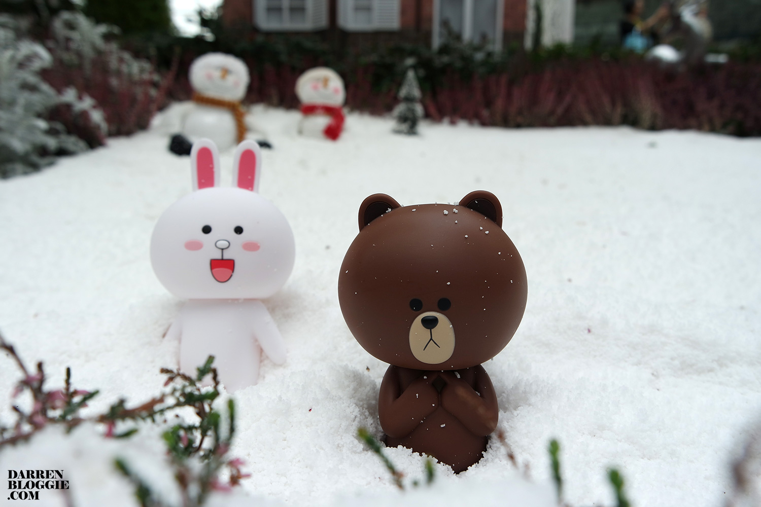 Brown and Cony at Gardens by the Bay