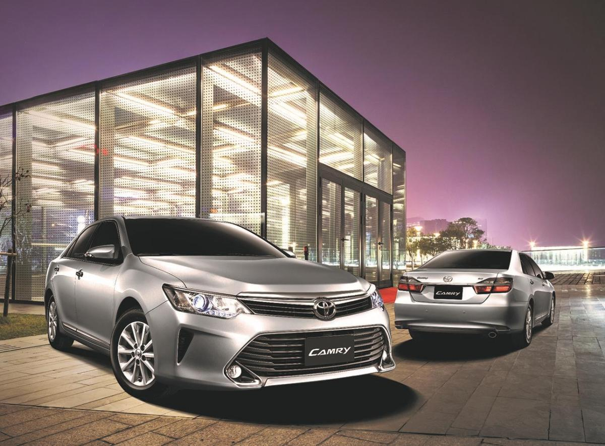 The new Toyota Camry sets the Mark of a Leader press release